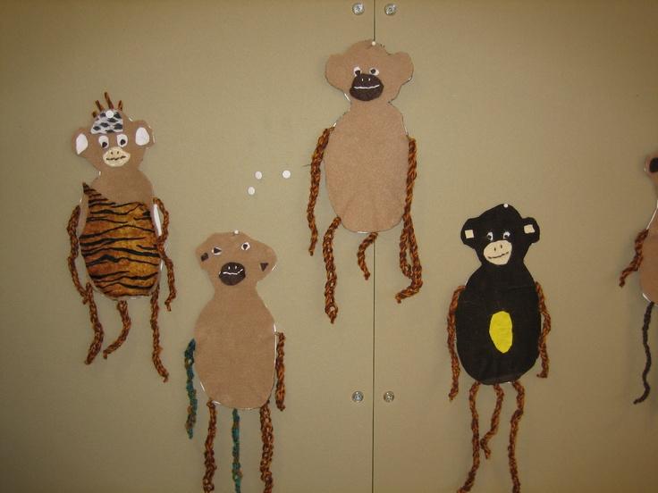 Virkkausjalka-apinat