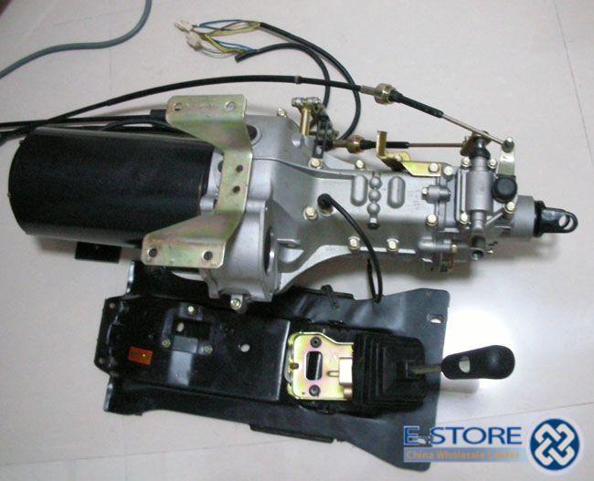 Electric Car Motor Curtis 1238 6501 HPEVS AC 12 Brushless AC Motor