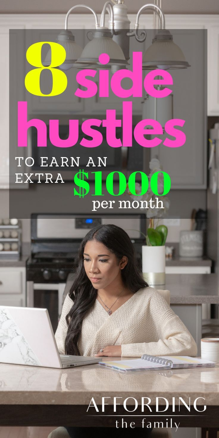 8 side hustles a stayathome mom can do to earn extra