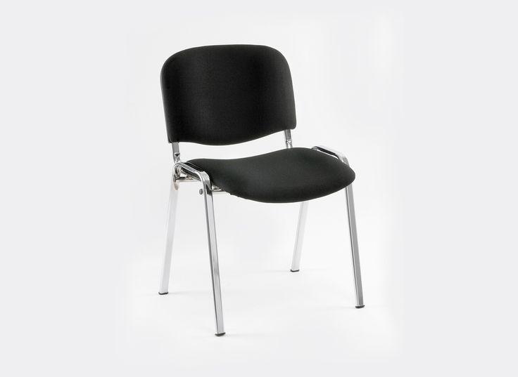 € 33,00 #sconto 40% #sedia #poltroncina da #ufficio e sala d'attesa ISO S in acciaio verniciato #nero. Sedile imbottito e rivestito in #tessuto nero. Sedia #impilabile. In #offerta prezzo su #chairsoutlet factory #store #arredamento. Comprala adesso su www.chairsoutlet.com