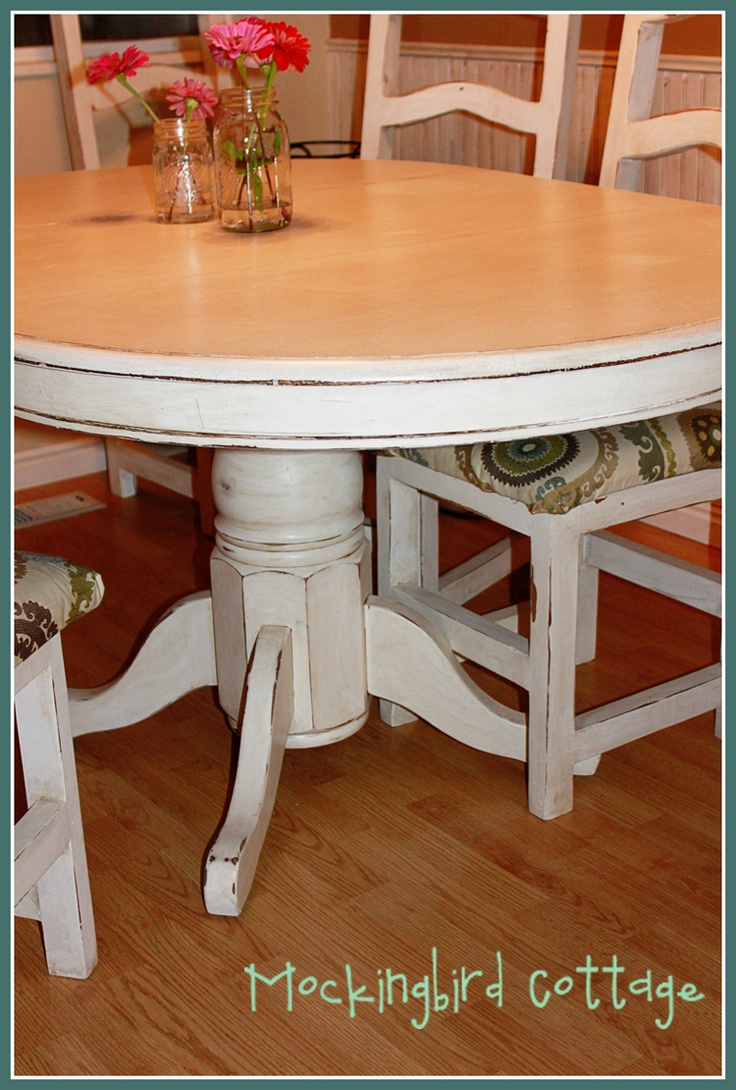 Best 25 refinish kitchen tables ideas on pinterest dining table makeover colorful kitchen - Refinishing a kitchen table ...