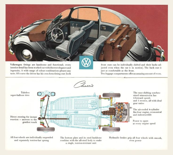 17 best images about vw bugs volkswagen baja bug 1958 volkswagen beetle brochure