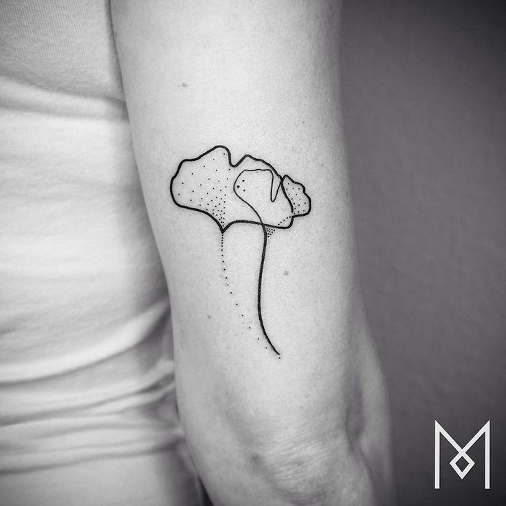 De nouveaux tatouages minimalistes linéaires par Mo Ganji  2Tout2Rien