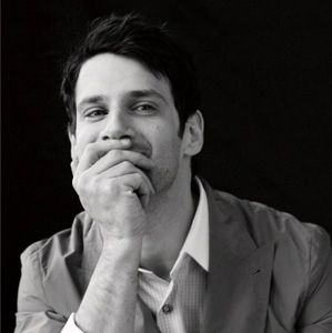 I like them a little dorky..Justin Bartha