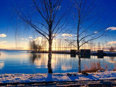 A pale sun appeared on December 1st in Vaasa, Finland Christian Nylund