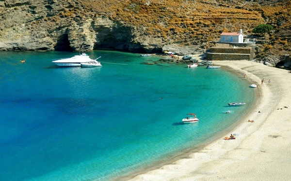 Achla beach in Andros Island!