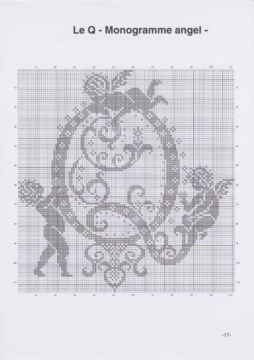 Gallery.ru / Фото #20 - JD327 - Monogrammes Angels - lyulnar