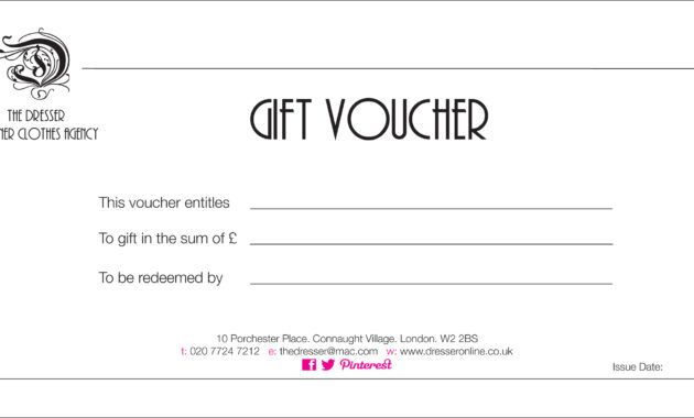 Certificate Gift Voucher Template Intended For This Certificate