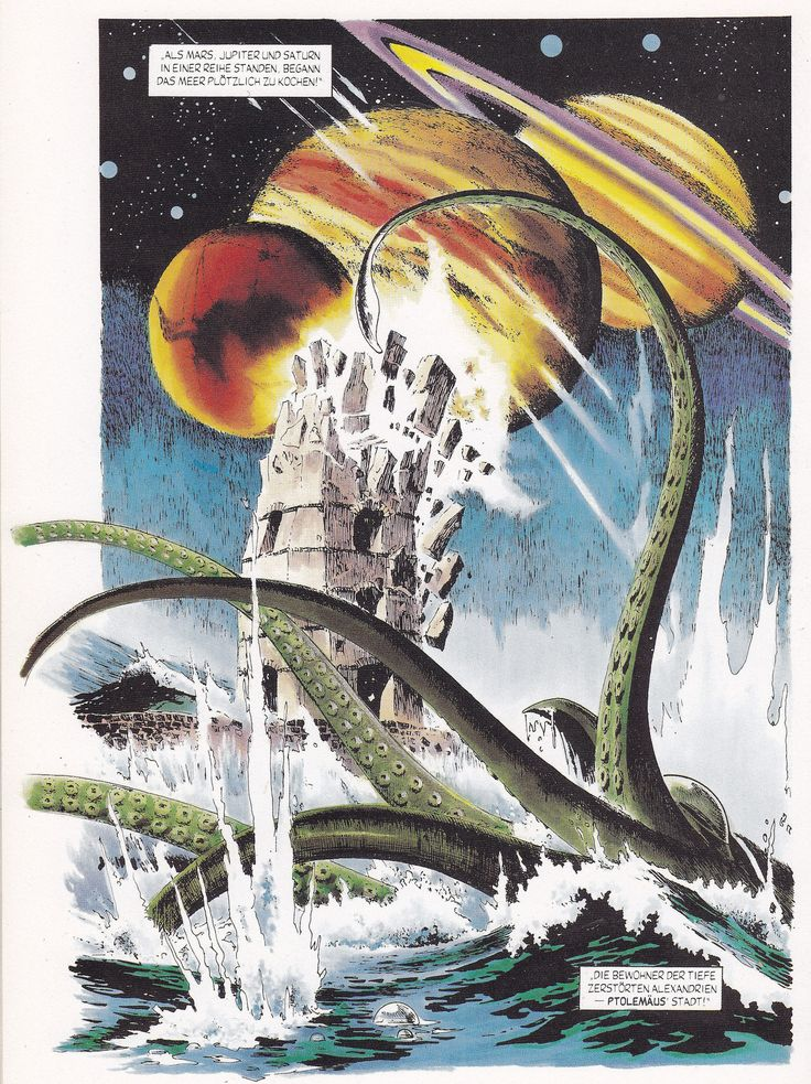 https://flic.kr/p/YKGZX1 | Doktor Who's Reisen durch Raum und Zeit #2 / Seite 14 | Dr. Who / Album-Reihe > Gestade des Todes art: John Ridgway (reprints from Doctor Who Graphic Novel Voyager (Marvel UK, 1985) Conpart Verlag (Berlin / Deutschland; 1990) ex libris MTP en.wikipedia.org/wiki/Doctor_Who