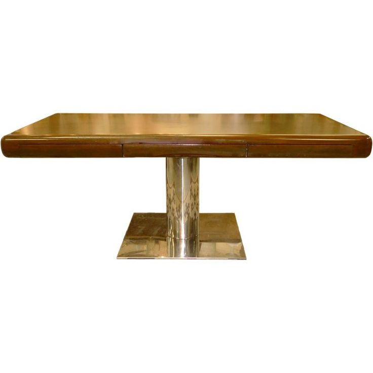Custom Platner style Pedestal Desk by Gianni for Office Suites   1stdibs.com