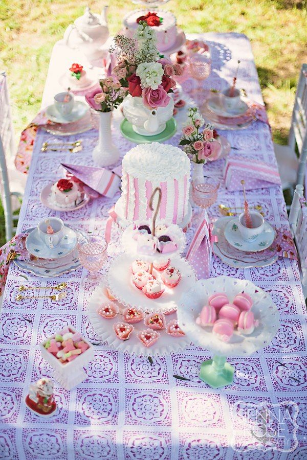 Strawberry Shortcake Tea Party Feature