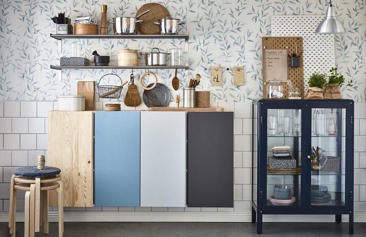 """1,519 mentions J'aime, 2 commentaires - IKEA FRANCE (@ikeafrance) sur Instagram: """"Facile de customiser sa cuisine : un coup de peinture sur les éléments IVAR ! #1jour1idée…"""""""