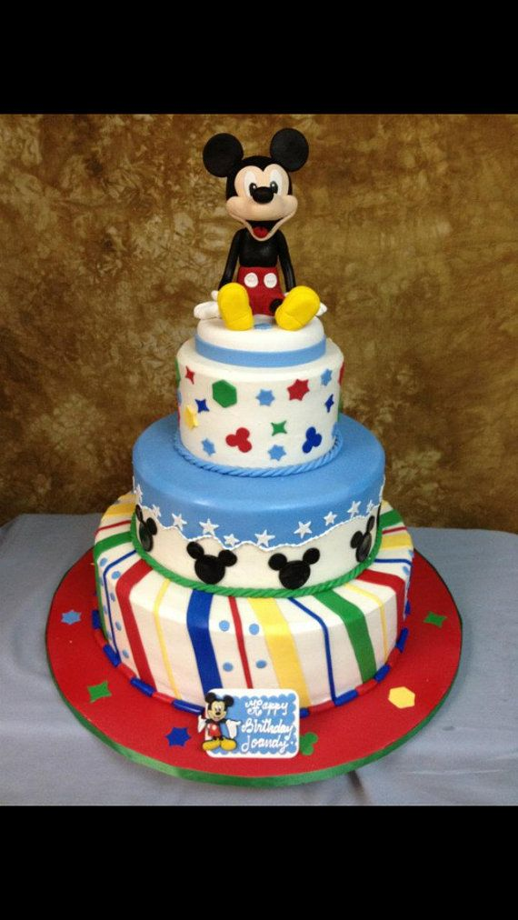 95 best cakes mickey mouse images on Pinterest Modeling