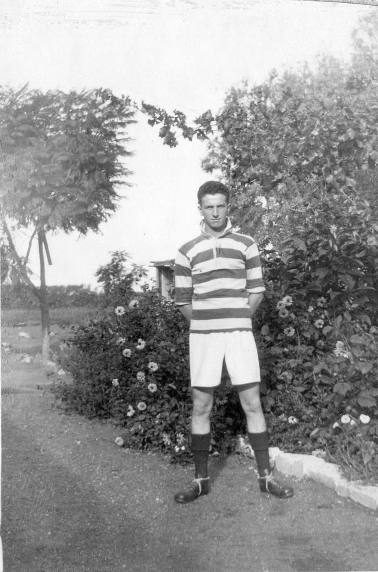 Oupa Campbell Martin Smith senter SA Railways 1st Team Pietersburg +- 1930