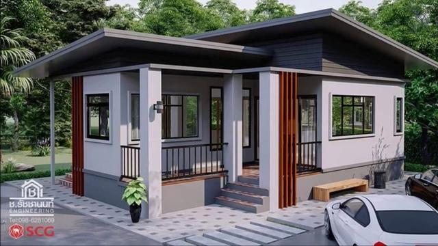 c1ce663c17bfaa66ea96909e53a4d84f - View Low Cost Simple Small Modern House Design PNG