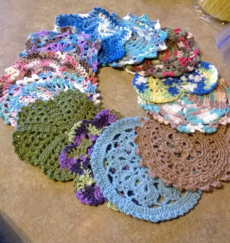 Free Crochet Pattern Leaflets : All 12 patterns from the Leisure Arts leaflet 2611 ...