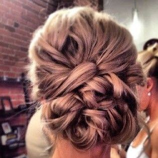 blog hair makeup updo Top Wedding Hair & Makeup Ideas From Pinterest @Bryce Smith bridesmaid hair?