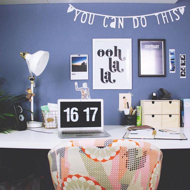 Die besten 25+ jugendlich Schreibtisch Organisation Ideen auf - ideen buromobel design ersa arbeitszimmer
