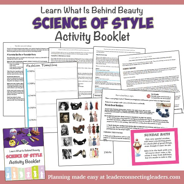 Science of Style Activity Booklet