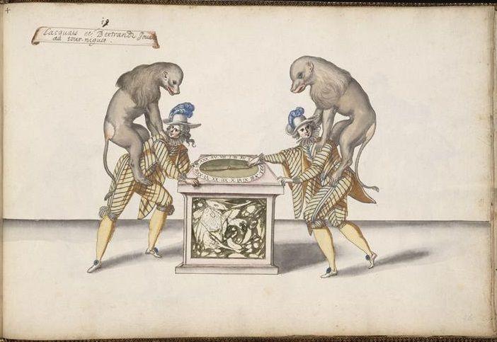 bibliodyssey masks | theatre costume designs by daniel rabel 1620s
