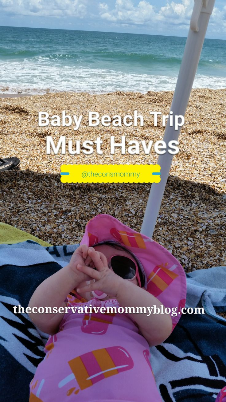 A great #list of #musthaves and #tips for your #baby #beach #trip!  #vacation #shore #ftm