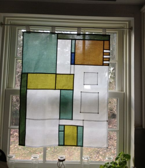 Pojagi kitchen curtain