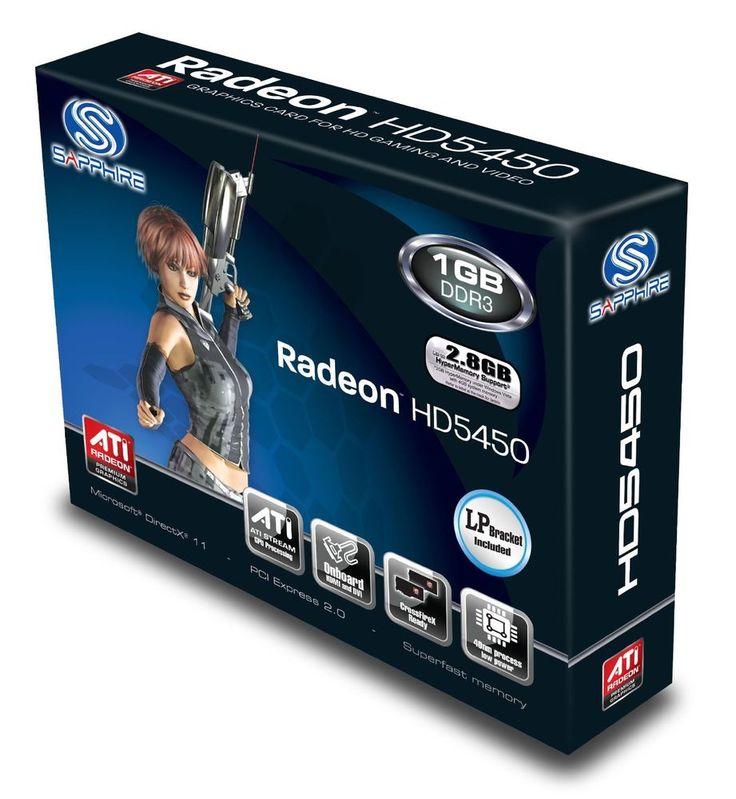 Carte Graphique RADEON HD 5450 PCI EXPRESS 2.1 x16 - 1 Go DDR3 - ETAT NEUF