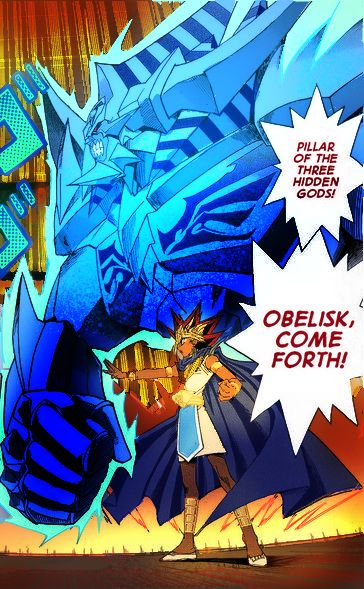 Obelisk The Tormentor Art Atem summoning Obelisk...
