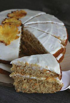burczymiwbrzuchu: Słodka sobota #118: Ciasto dyniowo-marchewkowe z ananasem