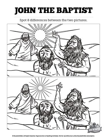 John The Baptist And Jesus For Kids 17+ images about NT Do...