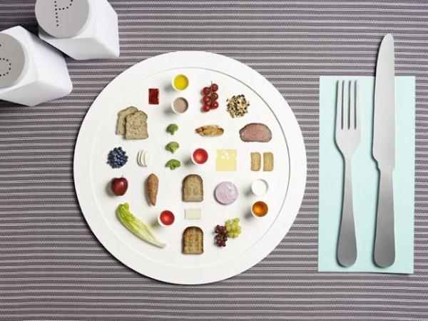A visual of Olympian sized portions
