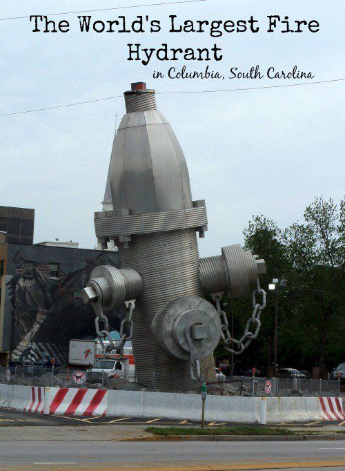 The World's Largest Fire Hydrant Roadside Attraction in Columbia, South Carolina