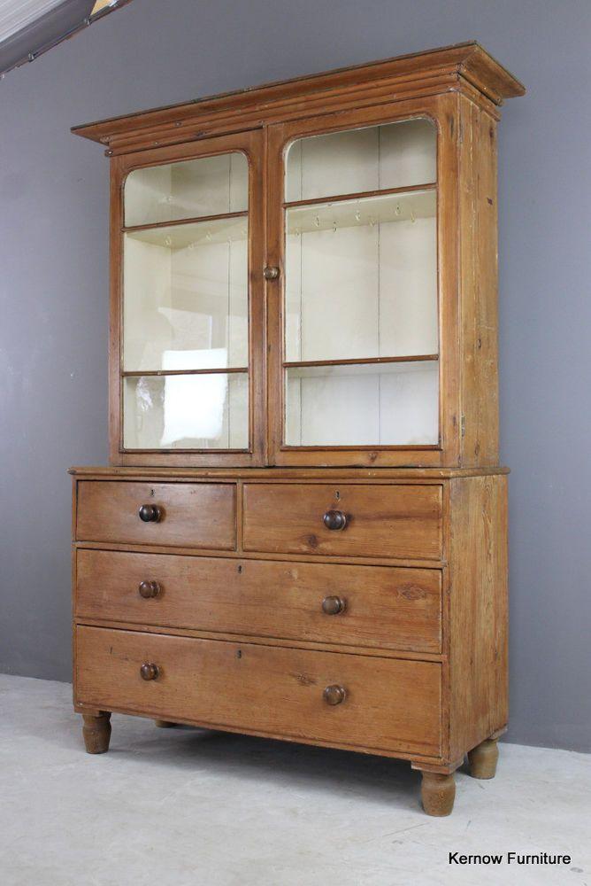Waxed Victorian Antique Glazed Pine