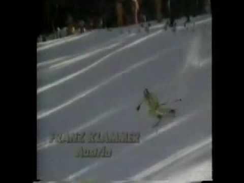 ▶ Franz Klammer's Gold Medal Run - Innsbruck 1976 - YouTube