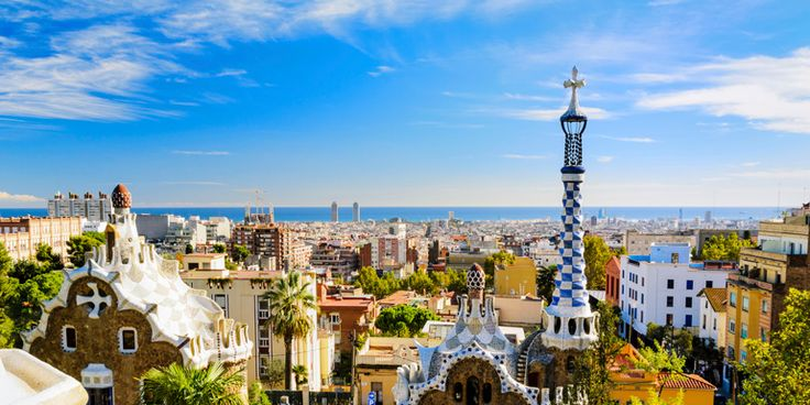 On a chilly day in NYC, a sunny, summery picture of Barcelona's Gaudi-designed park takes me right back there.  - Bon Voyage by Cruiseline.com