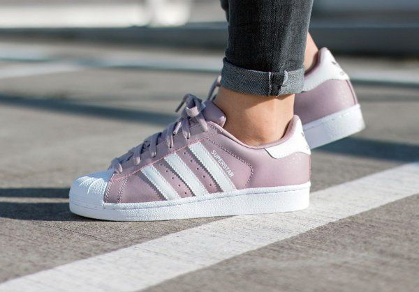 Adidas Superstar 80's W Blanch Purple 'Polka Dot'