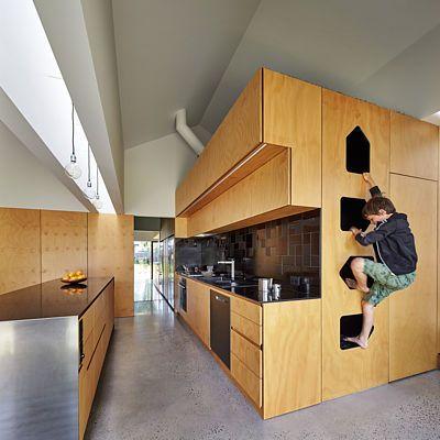 Pelíšek nad kuchyní - ideální čihadlo pro každého, kdo se zajímá o to, za jak dlouho bude jídlo hotové.