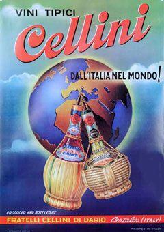 """Vini Tipici Cellini"" c1950"