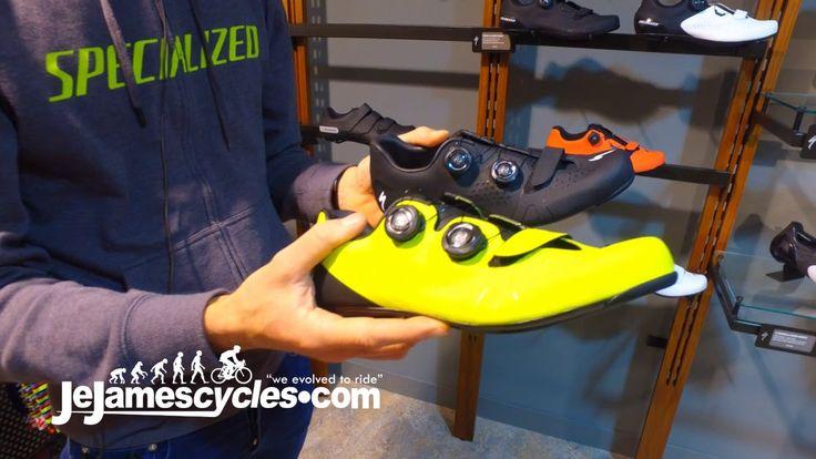 Specialized Torch 3.0 Road Bike Shoe 2018  Pour plus d'informations et les prix, s'il vous plaît visitez notre site Web et cliquez sur le lien ci-dessous.  https://www.jejamescycles...