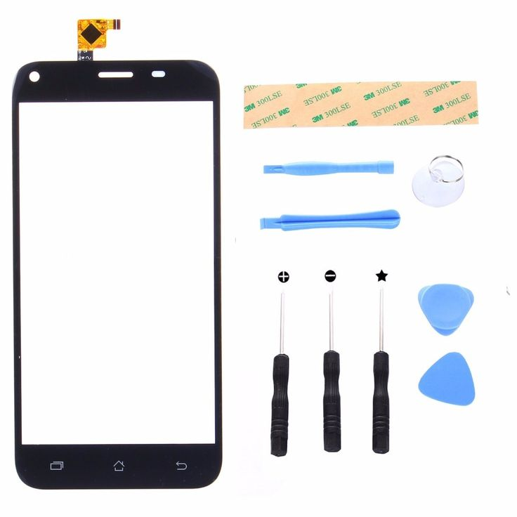 Digitizer Front Touch Screen glass for Archos 50 Helium Plus Panel Replacement Display Repair Panel with Tool Set  #Affiliate