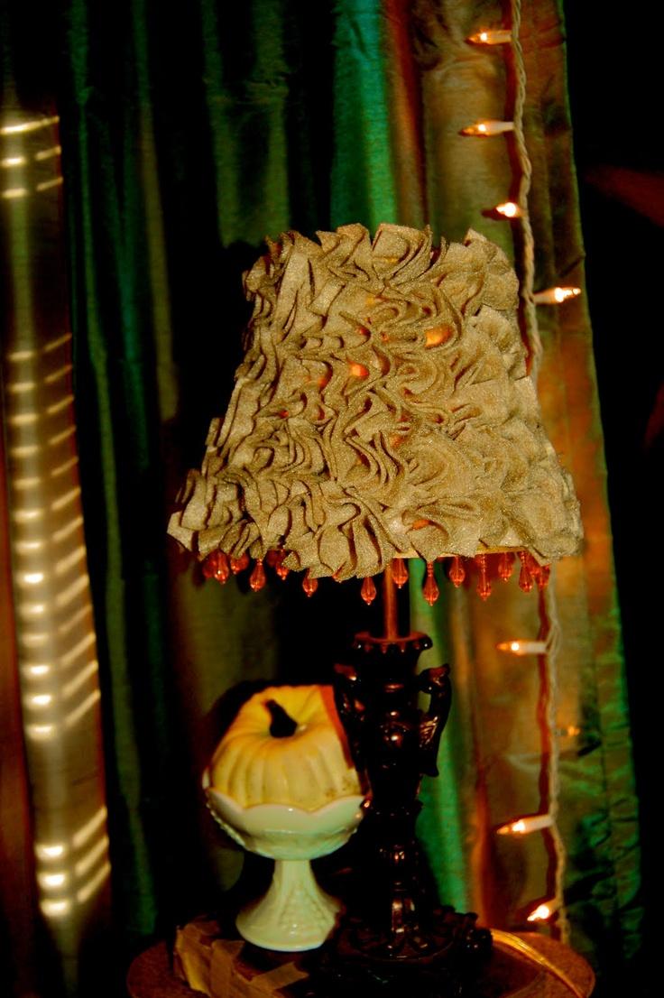 DIY: Shabby Chic Lampshade