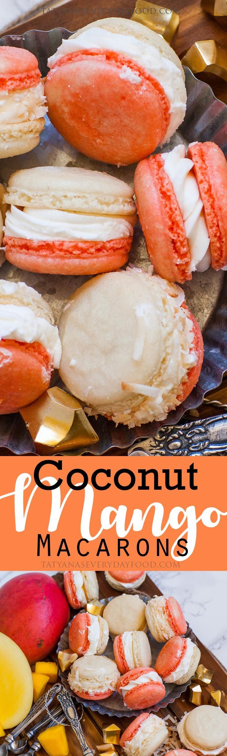 Summer is finally upon us and these macarons are a great way to kick off the season. Every bite of these 'coconut mango macarons' is filled with tropical flavor. Made with coconut buttercream, coconut almond cookies and filled with mango puree! The perfect summer-time treat! Watch my video recipe for all the details! Love this […]