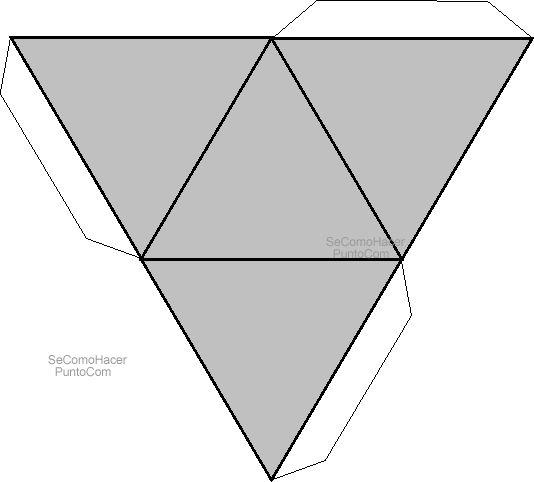 Figura para hacer un prisma