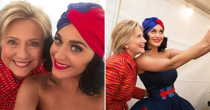 What better way to spend your birthday than with presidential hopeful Hillary Clinton! Katy Perry not only performed at a rally for Clinton in Des Moines, Iowa, but she also took over her Instagram account during the rally. Perry has performed at more than one rally by now and fully supports the candidate.