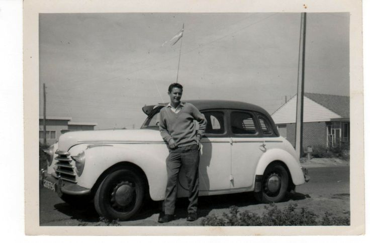 Me with the 1946 Skoda