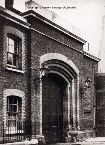 Brixton Prison Entrance, Brixton Hill