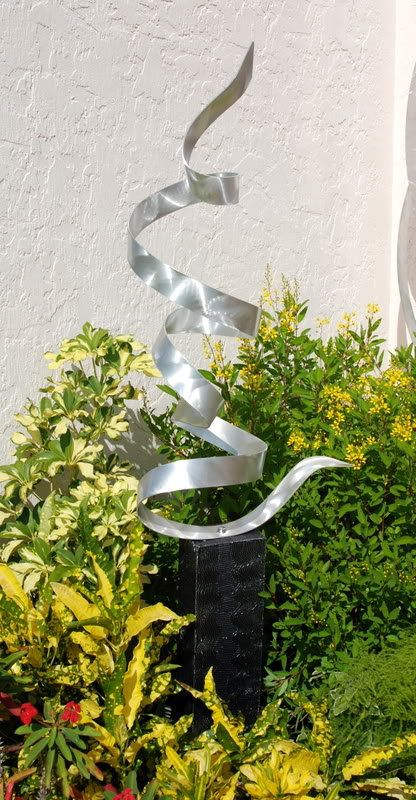 Organic Modern Abstract Metal Outdoor Garden By