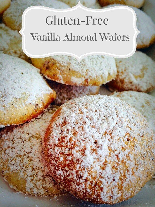 Gluten-Free Vanilla Almond Wafers