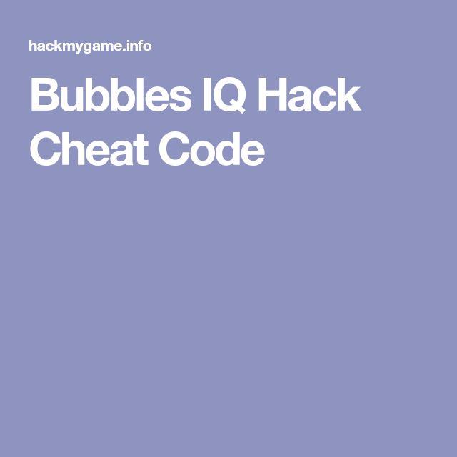 Bubbles IQ Hack Cheat Code