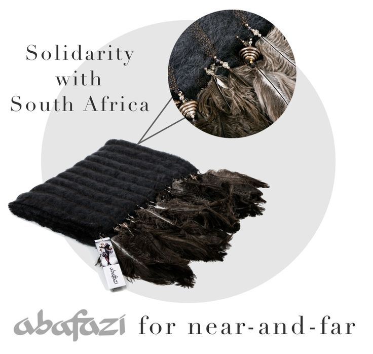 Abafazy fine mohair and ostrich feather dark grey throw: a unique throw from South Africa entirely handloomed by local women in remote villages who work from home to generate an income. Creating employment opportunities is a mean to contribute to poverty alleviation in South Africa. This accessory will make your home unique.  http://bit.ly/1DZjB9u #traditions #solidarity #world #populations #reducepoverty #maldafrique
